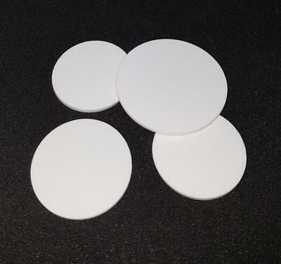 4 X Bespoke Silicone Rubber Disc / Discs 0.5mm Thick • 8.35£