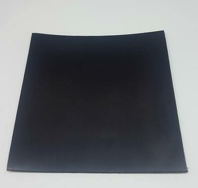 Solid Black Neoprene Rubber Sheet 8mm Thick Various Sizes • 7.29£