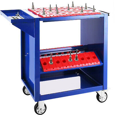 BT30 CNC Tool Trolley Cart Holders Toolscoot Tooling CAT30 CT30 Steel Mill • 96.48£