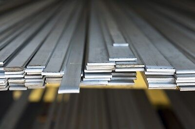 Stainless Steel Flat Bar Strip Plate Many Sizes And Lengths Metal Rod Section • 9.99£