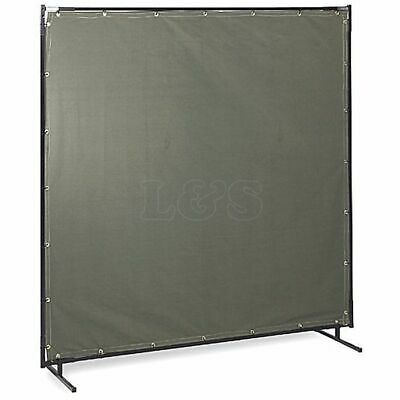 Welding Curtain, 6ft X 6ft On A Free Standing Frame, Flame Retardant • 94.80£