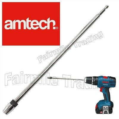 Long Quick Release 300mm 12  Screwdriver Bit Holder 1/4  Hex Extension Drill • 4.99£