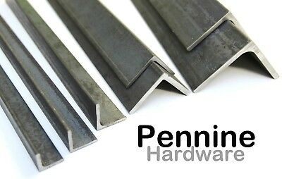 MILD STEEL ANGLE Iron All Popular Sizes Available & Bandsaw Cut Sizes To Order • 21.89£