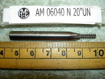 AME (AM 06040) CARBIDE THREAD MILL N 20  UN (TiALN COATED) 6MM SHANK NEW • 29.70£