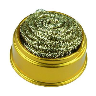 Soldering Iron Cleaning Ball Copper Wire Solder Cleaner • 5.99£