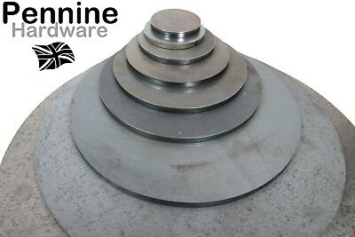 6.0 MM Thick Mild Steel Blank DISCS Circles UK Manufactured - Plate Washers Feet • 5.28£