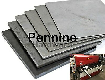 MILD STEEL SHEET Guillotine Cut Metal Plate UK  Trade Supplier 0.9 - 5.0 Mm • 17.05£