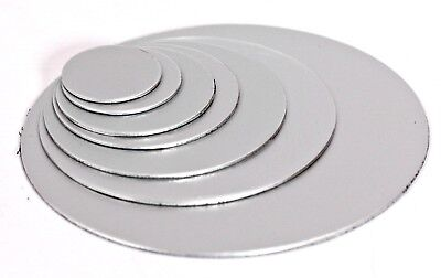 STAINLESS STEEL Blank Round DISCS 304 Grade Sheet Metal Precision Laser Cut • 12.54£