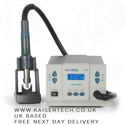 Quick 861DE 1200W Hot Air Rework Station *Genuine* - Free Next Day Delivery 🚚 • 265£