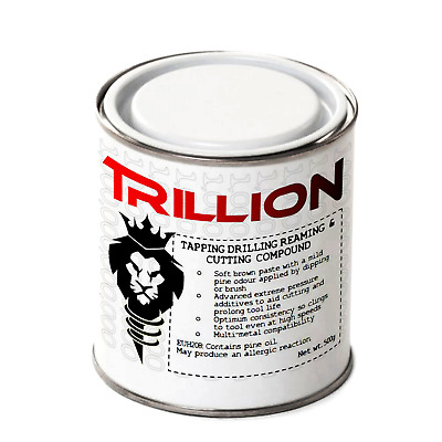 TRILLION Cutting Drilling Reaming & Tapping Compound, Top RTD Paste Alternative • 8.67£
