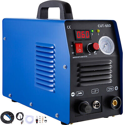 ICUT-60, 60 Amp Air Plasma Cutter Inverter Cutting Machine IGBT CUT 1-14mm • 159.99£