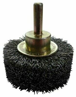 Josco HIGH-SPEED CRIMPED WHEEL BRUSH 50mm Removes Rust & Corrosion *Aust Brand • 66.58£