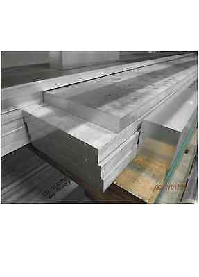 Aluminium Flat Bar Strip Plate 100mm 150mm 200mm Various Sizes Grade 6082T6 • 62.30£