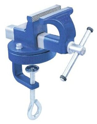 RS Pro FINE MECHANICS BENCH VICE 75x45x43mm 360° Swivel Base, Precision Clamping • 143.96£