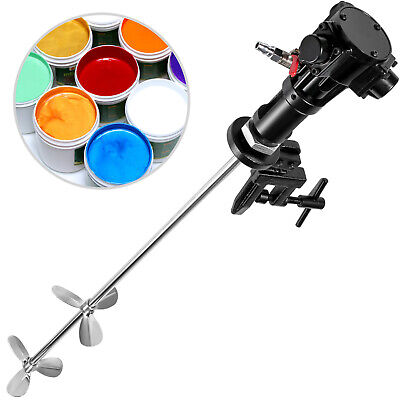 Pneumatic Mixer Paint Mixer 50 Gallon 200L Drill Paint Mixer For Stirring Paint • 84.98£