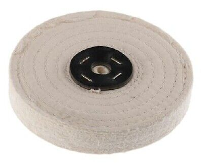 RS Pro SEWN COTTON POLISHING MOP 6-Inch 2-Sections, Spindle Mounting • 43.54£