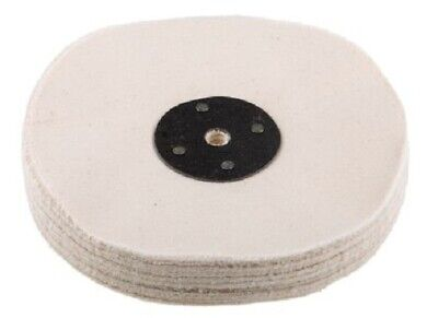 RS Pro COTTON POLISHING MOP 6-Inch Bench/Spindle Mounting • 53.03£