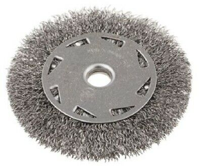 RS Pro CRIMPED WIRE REFILL BRUSH 100mm Diameter, 6mm Arbor Fixing • 44.01£