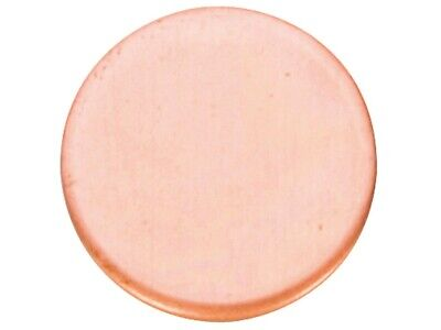 Round Pure Solid 99.9% Copper 3mm Metal Discs Jewellery Making / Metal Stamping • 5.99£