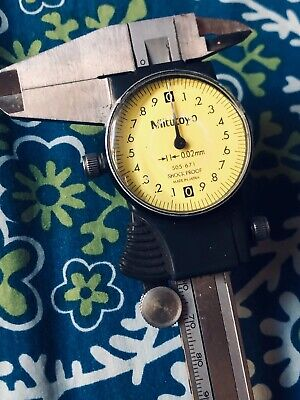 Vintage Mitutoyo 505-671 Dial Caliper Shock Proof Made In Japan • 79.65£