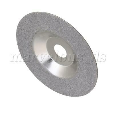 4   Diamond Coated Grinding Wheel Angle Grinder Disc Silver Color • 14.89£