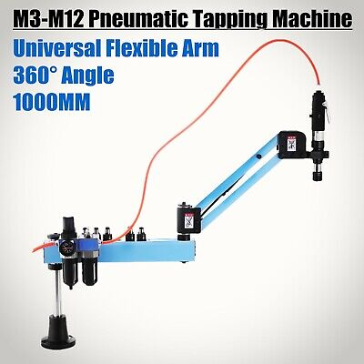 Vertical Pneumatic Tapping Drilling Machine Radius 1000mm Horizontal Automatic • 360.51£