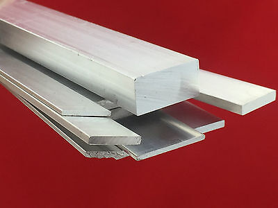 Aluminium Flat Bar Many Size Choose Length Up To 500mm To 2000mm Long Best Price • 18.49£