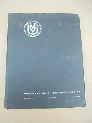 U.m.v. Hydraulic Press Operating Instructions Maintenance & Parts List • 40£