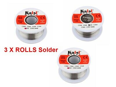 Solder Wire 60/40 Ready Fluxed, Very Thin For Small Electronics Use 0.3/0.5mm  • 3.65£