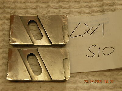 David Brown Floating Reamer Blades 1 Pair S10 Carbide Tipped Used Lot #1 • 15£