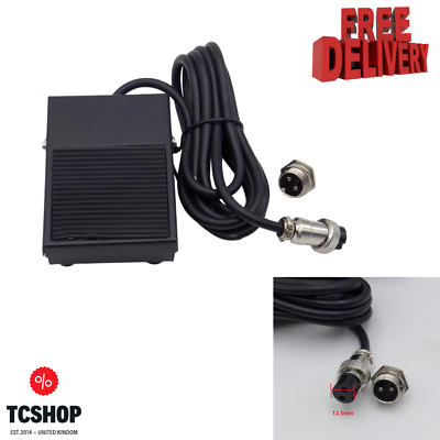 Spot Welding Foot Pedal Switch 2 Meters Cable 2 Pins Connector Tig Control  • 20.99£
