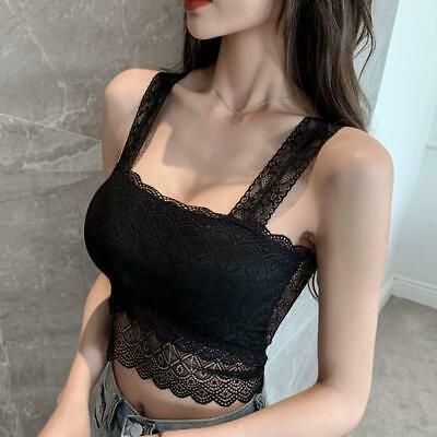 Women Summer Tank Top Fashion Women Clothes All-match Fit Slim Nice T6C1 • 2.83£