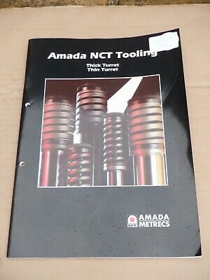Amada Punch Presses Nct Tooling Information Catalogue In Very Good Condition • 20£