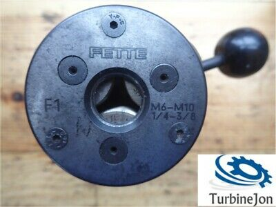 FETTA F 1 Thread Rolling Head M6 - M10 (1/4  -3/8 ) - TJ • 260£