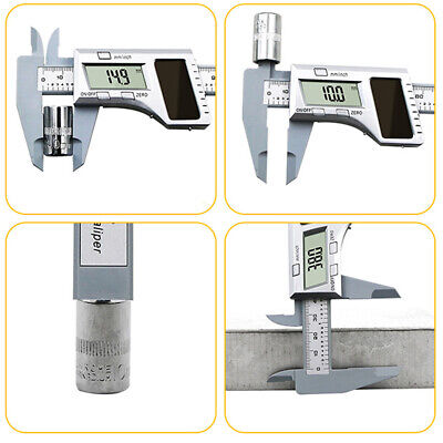 Solar Panel Metric Conversion Vernier Caliper Durable Electronic Digital Display • 9.88£
