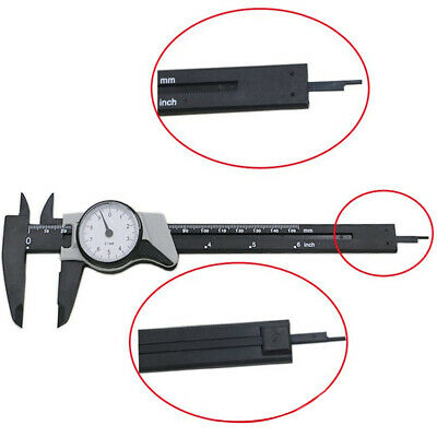 0-150mm Portable Battery Powered Slide Dial Vernier Caliper Micrometer Plastic • 6.48£