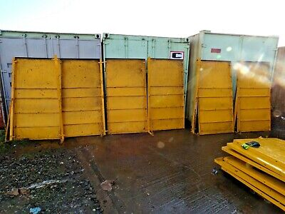 Factory Partition Heavy Duty Steel Partitioning Panels • 249.99£