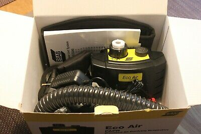 Air Fed Welding Mask Air Supply ESAB Eco Air Unit NEW UNUSED • 242£