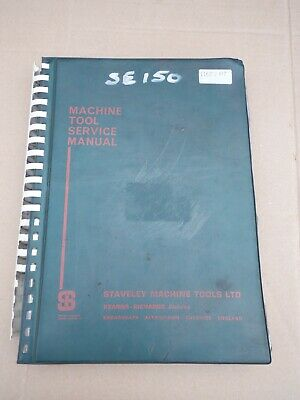 Kearns Richards Se-125/150 Horizontal Milling & Boring M/c Instruction Manual • 50£