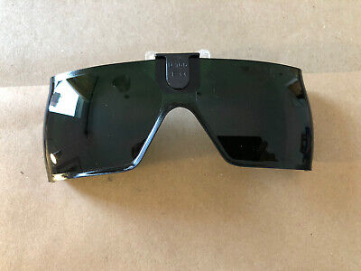 Welding Clip On Flip Up Wrap Around Glasses Shade #5 • 19.99£