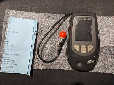 DeFelsko Positector 6000 Coating Thickness Gauge And  FS Probe.  • 200£