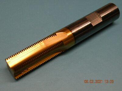 Solid Carbide Thread Mill 20UNEF Tin Coated 16mm Shank 100mm O/all 38mm Fl LOT#2 • 58£