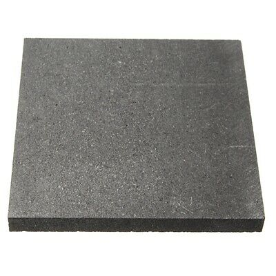 100*100*10mm 99.9%Pure Graphite Block Electrode Rectangle Plate L3H5 • 8.29£