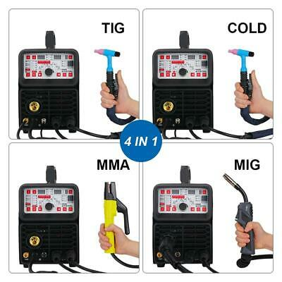 Smart Welding Machine MIG TIG MMA Cold Welding And Flux Welding Without Gas • 717.80£
