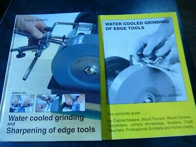 Water Cooled Grinding Books By Torgny Jansson • 5£