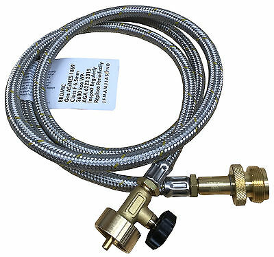 Bernzomatic Propane/Mapp Torch Soldering Extension Hose Kit CGA600 1.5 Metres • 45.75£
