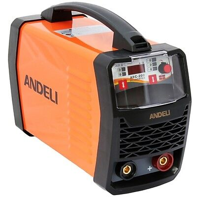 200amp Dc Inverter Welder Mma(stick)/lift Tig Machine Duty Cycle 60% + Mma Kit • 149.99£
