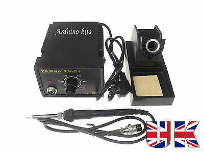 Soldering Station Best Quality YAXUN 936B + With UK 3pin Plug Solder • 24.99£