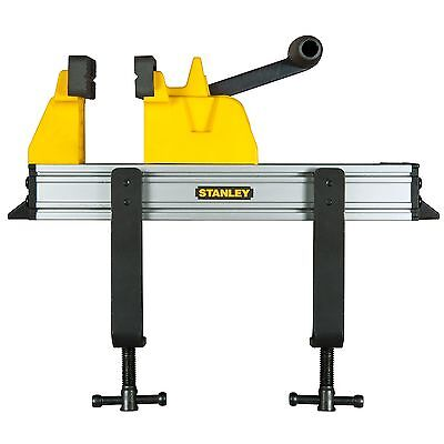 Stanley QUICK CLAMP VICE W/ Steel Sliding Jaw & 1 Handed Lever Arm *USA Brand • 50.18£