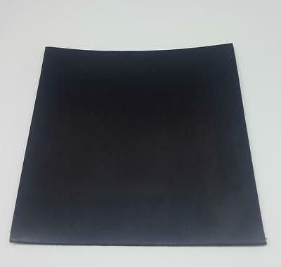 Solid Black Neoprene Rubber Sheet 6mm Thick Various Sizes • 6.22£